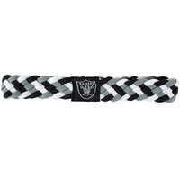 Oakland Raiders NFL Braided Head Band 6 Braid