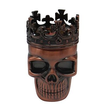 NEW Cool King Skull Tobacco Herb Grinder - Weed Tool