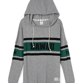 University of Hawaii Varsity Pullover Hoodie - PINK - Victoria's Secret