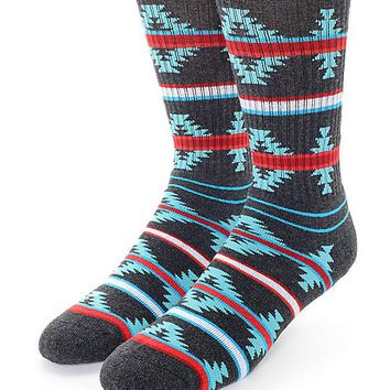 Empyre Got It All Tribal Stripe Crew Socks