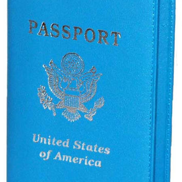 PASSPORT USA BABY BLUE