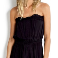 Seafolly Ocean Rose Romper In Black 52947-PS