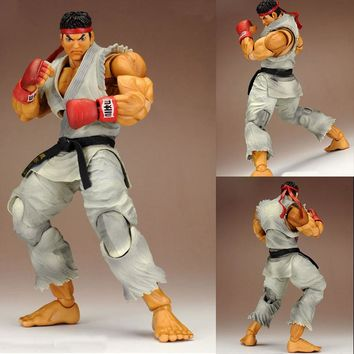 PLAY ARTS KAI Street Fighter Ryu PVC Action Figure Collectible Model Toy 22cm KT3437