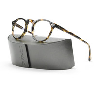 Oliver Peoples 5186 Gregory Peck Eyeglasses 1003 Brown Havana with Clear Demo Lenses