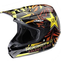One Industries Atom Rockstar Helmet - 2013 - Dirt Bike Motocross