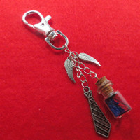 Supernatural Castiel's grace bag charm