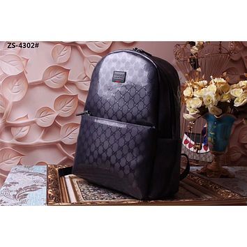 GUCCI MEN LEATHER BACKPACK BAG
