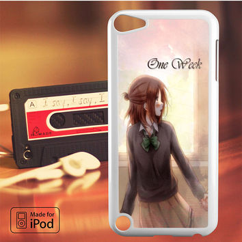 Isshukan Friends Kaori Side iPod Touch 4 iPod Touch 5 iPod Touch 6 Case