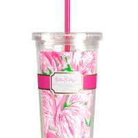 LILLY PULITZER: Tumbler Pink Colony