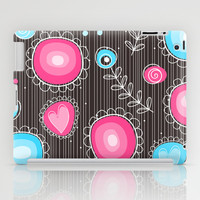 Whimsical flowers iPad Case by Silvianna