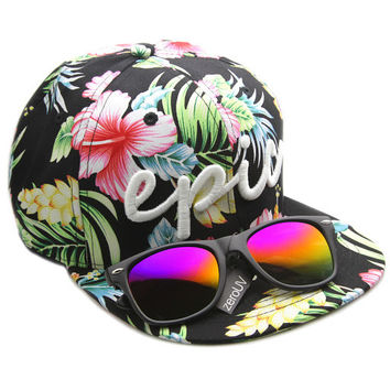 Exclusive Zerouv X Epic BMX Collaboration Snapback Cap Hat