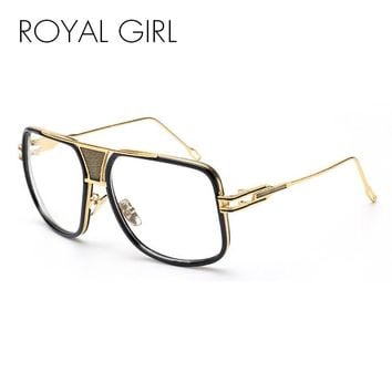 ROYAL GIRL Fashion Eye glasses Frames for Women men Clear glasses Vintage Spectacle Frames monturas de gafas feminino  ss767