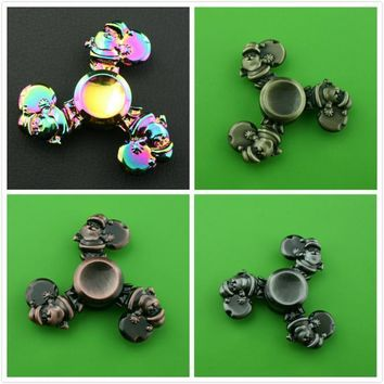 Santa Claus steel bearing Zinc Alloy Fidget Spinner Christmas Toy