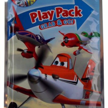 Lot 12 Disney Planes Play Pack Grab & Go Coloring Book Crayons Stickers Favors