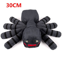 Big Size 30cm Minecraft Spider Plush Toys Cute Minecraft Game Plush Soft Toy Stuffed Animals Toys Doll for Kids Gift 1PCS