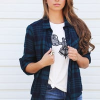 The Beat Of Plaid {Navy}