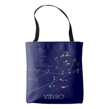 Constellation VIRGO unique, impressive Tote Bag