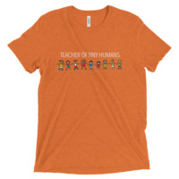 teacher of tiny humans - Short sleeve t-shirt