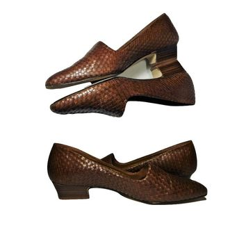 SOLD Women's Shoes, loafers, sandals, flats, leather shoes, bohemian, hippie, ethnic, Brazilian