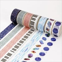 15/20mm*8m Japan Hand account washi tape DIY decoration scrapbooking planner masking tape adhesive tape label sticker stationery