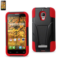 Silicon Case+Protector Cover ALCATEL one touch Fierce 7024W