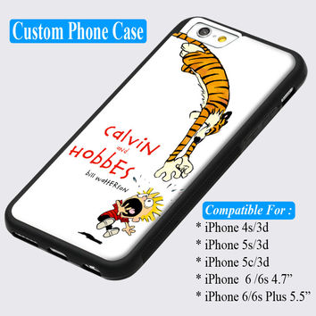 Calvin and Hobbes Comic Strip Custom iPhone cases 4/4s 5/5s 6/ 6s