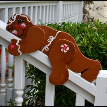 Gingerbread Yard Art, Christmas Decor, Gingerbread, Christmas Garden Art, Xmas Yard Art, Yard Art, Gingerbread Boy, Gingerbread Man