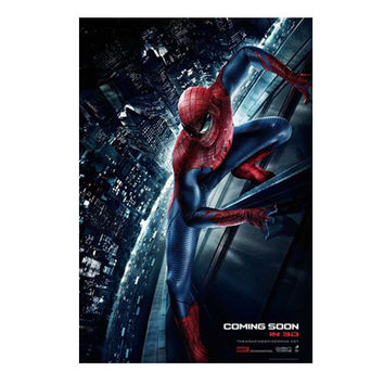 Amazing Spiderman Movie Teaser Poster