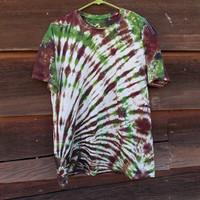 #Camo Tie Dye #Tee Shirt Size #Men's Large - #Army #Green, Brown, and Black V neck and Regular Tee