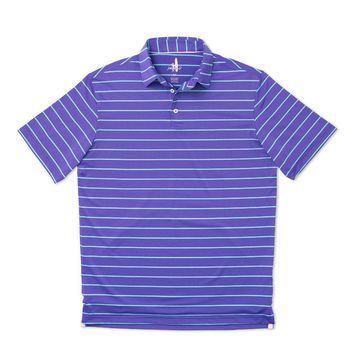 Eagle Prep-Formance Polo in Figg by Johnnie-O - FINAL SALE