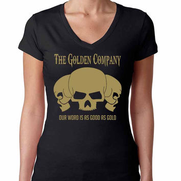 Golden Company Our word is as good as gold Women's Sporty V Shirt