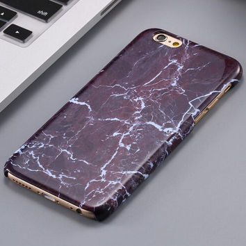 New Marble Stone iPhone 5se 5s 6 6s Plus Case Cover + Nice Gift Box 267