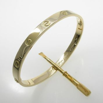 Authentic Cartier Love bracelet #260-002-078-3389