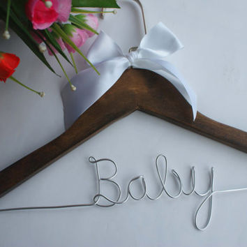 Personalized Hanger, Baby Hanger, Children's Hanger, Baby Name Hanger, Toddler Accessories, Baby Shower Gift, Toddler Fashion