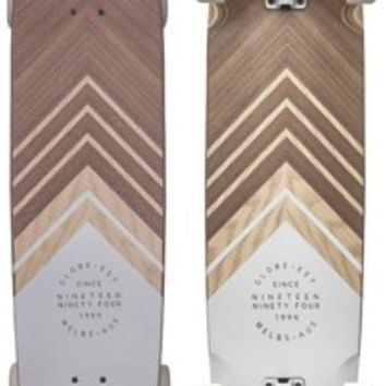 "Globe The Great Dane 40"" Complete Longboard - walnut/ash/white - Free Shipping"