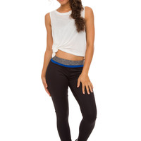 Cleo Activewear Pants - Blue