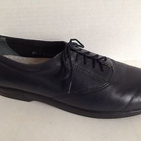 SAS Shoes Womens Size 7.5 Narrow Lace Up Made in USA Blue Tripad Comfort 7 1/2 N
