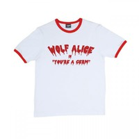 Wolf Alice | You're A Germ Ringer T-Shirt | Official Store