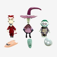 The Nightmare Before Christmas Lock Shock & Barrel Deluxe Collector Dolls