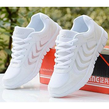 Light up sneakers running walking mesh shoes