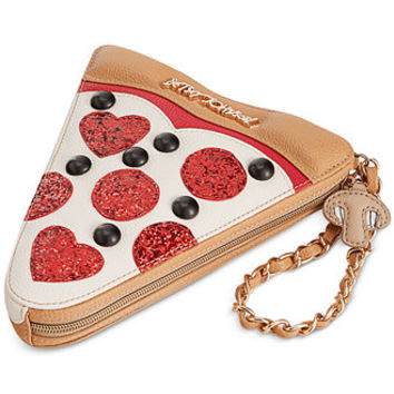 Betsey Johnson Pizza Wristlet