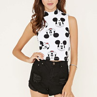 Mickey Crop Top | Forever 21 - 2000151304