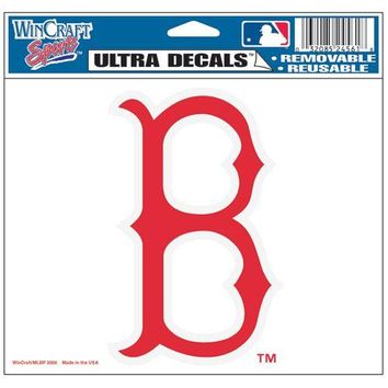 "Boston Red Sox 5""x6"" 'B' Ultra Decal"