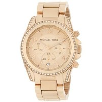 Michael Kors Women's MK5263 Rose Gold Blair Watch - designer shoes, handbags, jewelry, watches, and fashion accessories | endless.com
