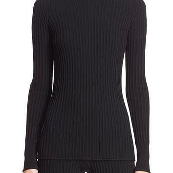 Moncler Rib Knit Turtleneck Sweater | Nordstrom