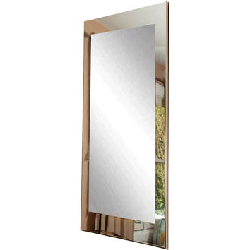 "Brandt Works Chrome Floor Mirror BM015TS 32""x66"""