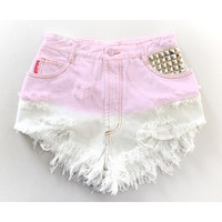 The Mia Pink Ombre Shorts from ShopWunderlust