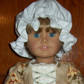 """Colonial Mob Cap for 18"""" American Girl Dolls"""
