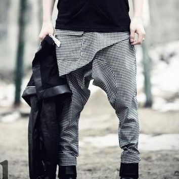 Men's New personality Harem pants pants flying squirrels pant stage show hip-hop pant trousers costumes 28-40 free shipping