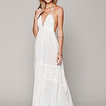 Womens Endless Summer Triangle Top Maxi